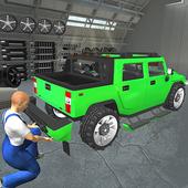 Hummer Car Mechanic 3D icon