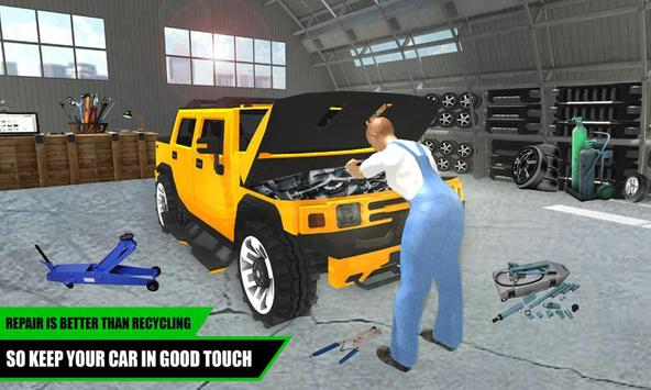 Hummer Car Mechanic 3D apk screenshot