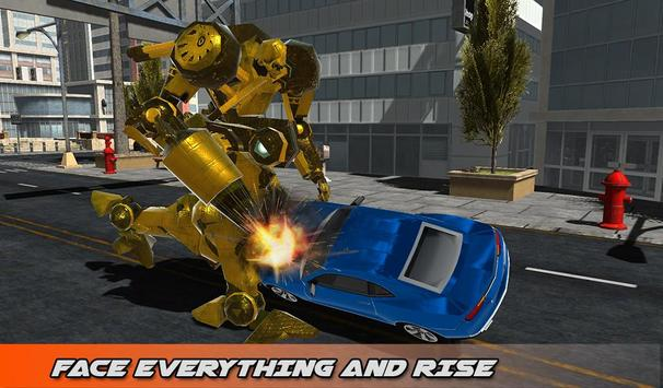 Hummer Transform Robot Fight apk screenshot