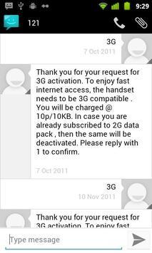 Messaging Lite G apk screenshot