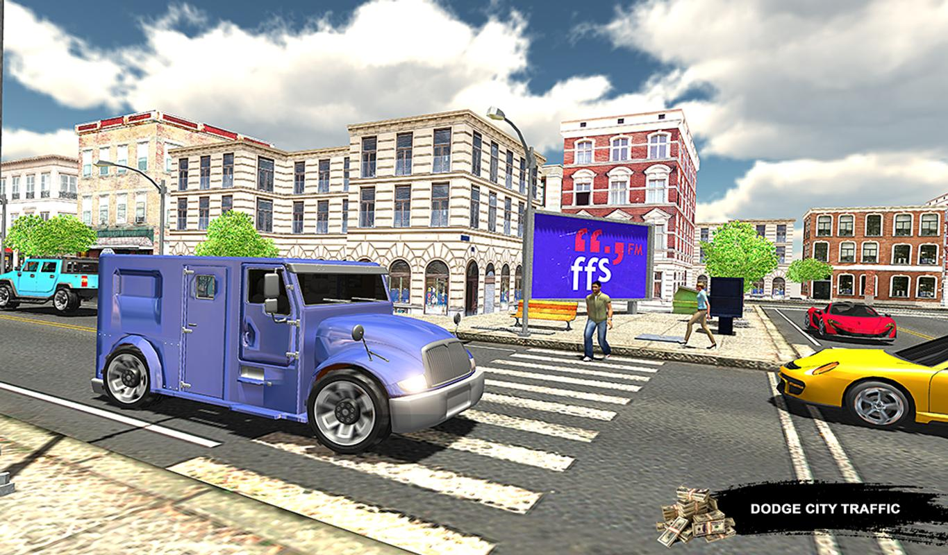 Miami City Bank Manager Cash Transport Truck APK Download - Free ...