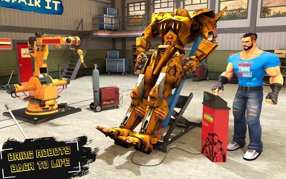 Real Robot Mechanic 3D apk screenshot