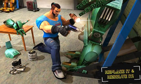 Real Robot Mechanic 3D poster