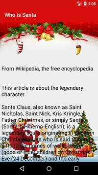 Who is Santa Claus - What is Christmas apk screenshot