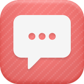 Coral Pink Theme-Messaging 6 icon