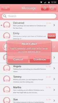 Coral Pink Theme-Messaging 6 apk screenshot