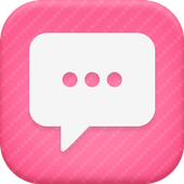 Candy Pink Theme-Messaging 6 icon