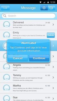Sky Blue Theme-Messaging 6 apk screenshot