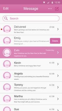 Fuchsia Theme-Messaging 7 poster