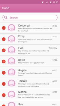 Fuchsia Theme-Messaging 7 apk screenshot