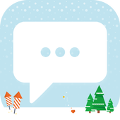 Snow Christmas - Messaging 7 icon