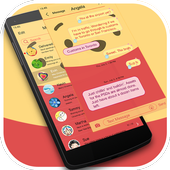Messaging 7 theme for Pooh icon