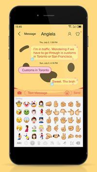 Messaging 7 theme for Pooh apk screenshot