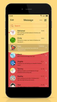 Messaging 7 theme for Pooh screenshot 1