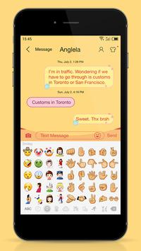 Messaging 7 theme for Pooh screenshot 2