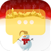 White Christmas - Messaging 7 icon