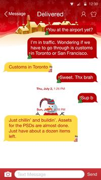 White Christmas - Messaging 7 apk screenshot