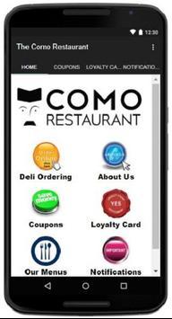 The Como Restaurant poster