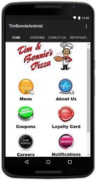 Tim & Bonnie's Pizza poster