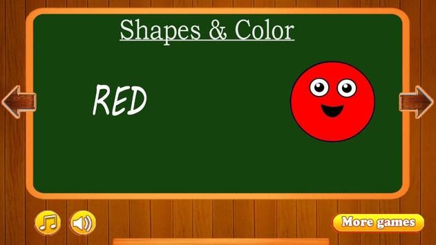 Learn Shapes and Colors screenshot 4