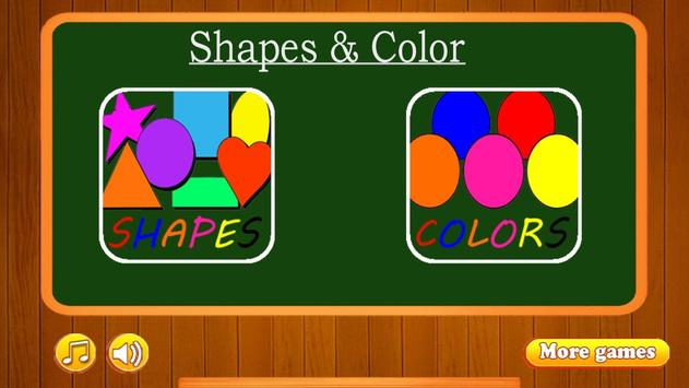 Learn Shapes and Colors poster