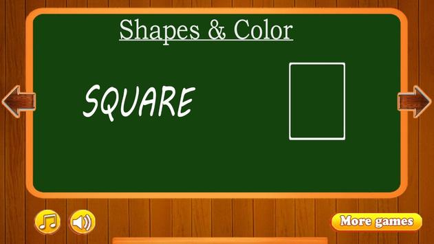 Learn Shapes and Colors screenshot 1