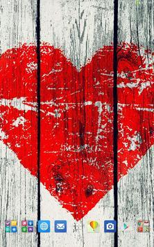 Retro Heart Wallpapers apk screenshot