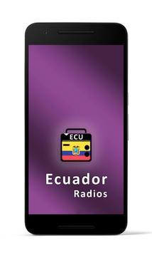 Radios Ecuador poster