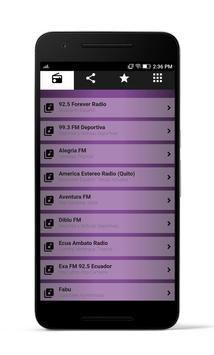 Radios Ecuador screenshot 1