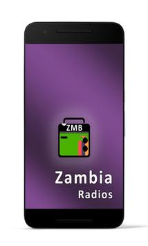 Zambia Radio Stations poster
