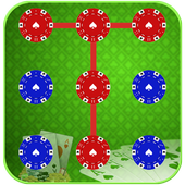 Poker Pattern Lock icon