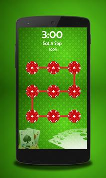 Poker Pattern Lock apk screenshot