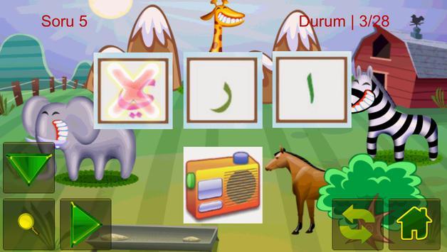 Preschool Elif Ba Arabic apk screenshot