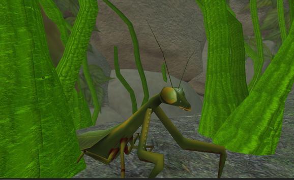 Praying Mantis Simulator 3D apk screenshot