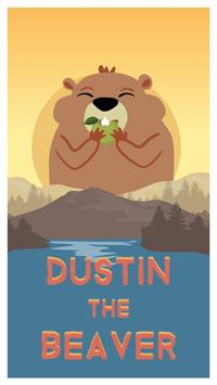 Dustin Beaver - Arcade Pong poster