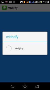 Meru mNotify screenshot 3