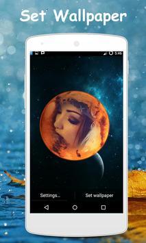 My Planet Photo Live Wallpaper apk screenshot