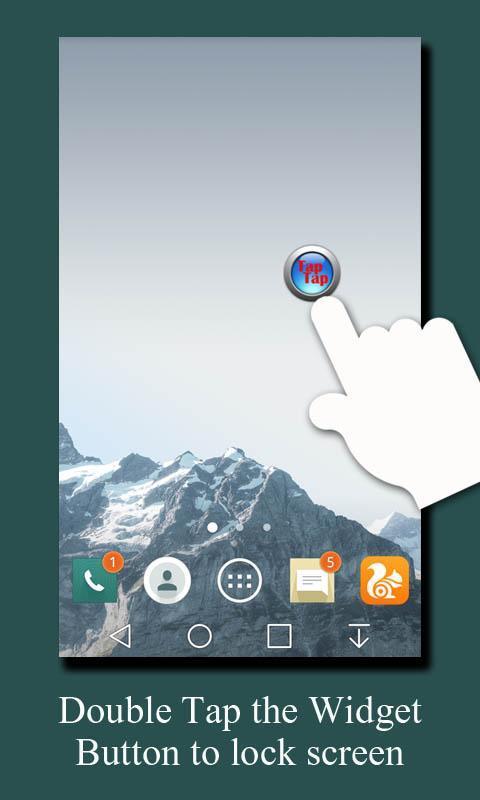 tap to unlock screen