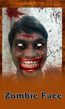 Zombie Photo Face Editor poster