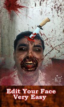 Zombie Photo Face Editor apk screenshot