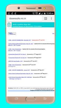 CBSE Result Class 10 & 12 2018 screenshot 3