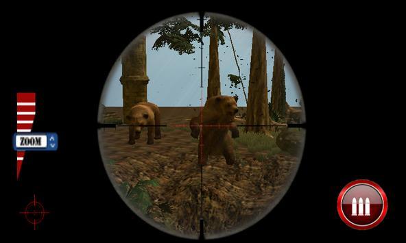 Wild animals hunting - Bear & Wolf Hunting Shooter screenshot 11