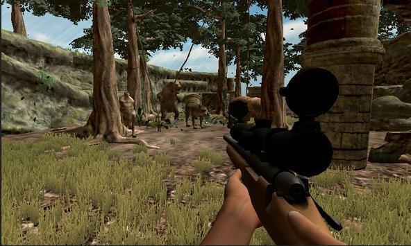 Wild animals hunting - Bear & Wolf Hunting Shooter screenshot 5