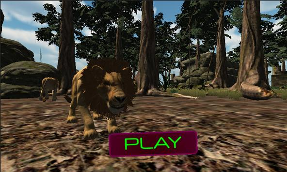 African Wild Lions & Tiger Hunting Simulator 3D poster