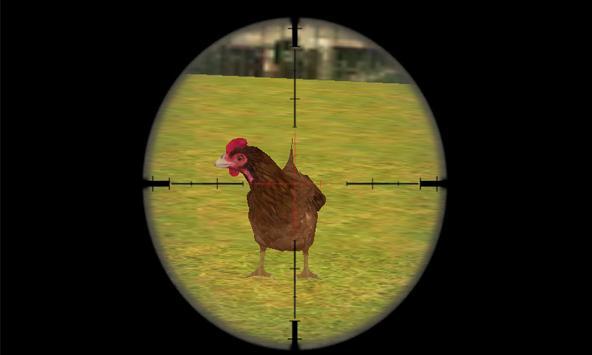 Screaming Chicken Hunt 2018 apk screenshot