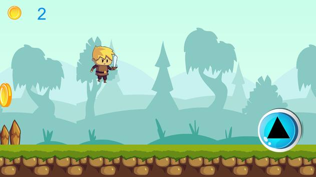 Knight Run Adventure Game - HD apk screenshot