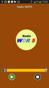 Radio WllDIlB 5 Deutschland poster