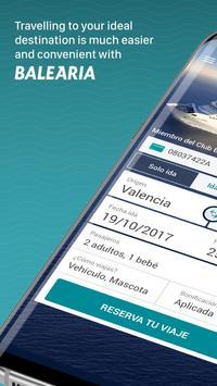 Baleària: Book your trip poster