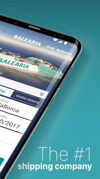 Baleària: Book your trip apk screenshot