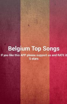 Belgium Top Songs poster